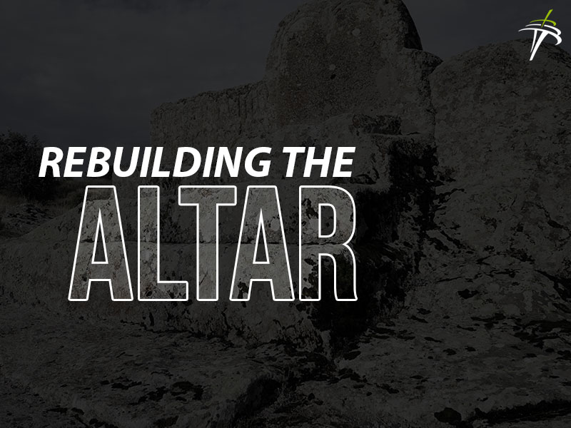 Rebuild the Altar - Ryan Scott