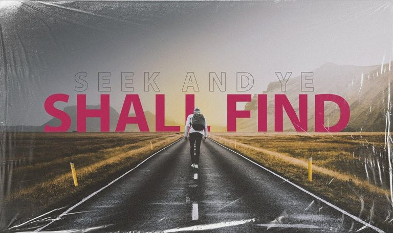 Seek and Ye Shall Find (Joshua Tingley)